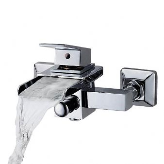 Arian 'Calla' Waterfall Bath/Shower Mixer Tap with Single Lever